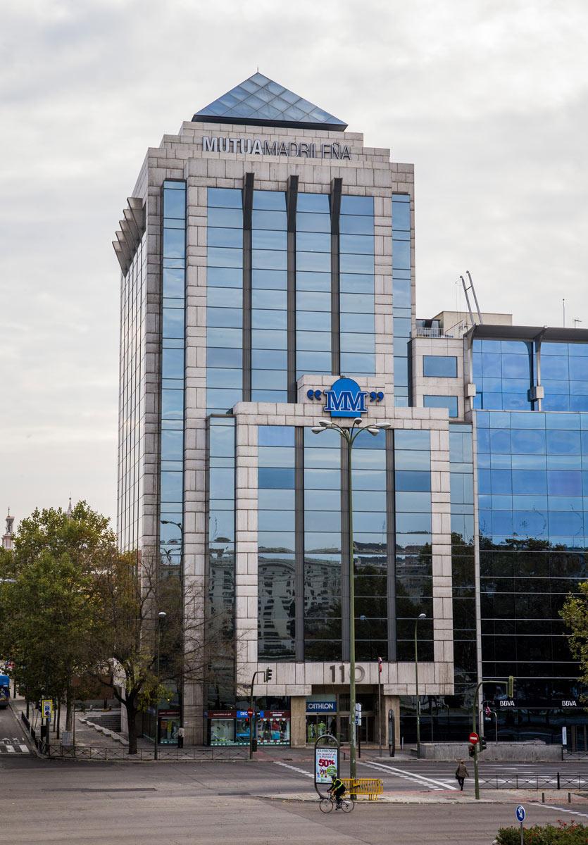 Castellana 110 oficinas en alquiler mutua inmobiliaria - Oficinas de mutua madrilena ...